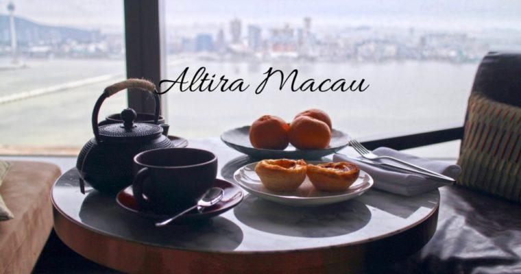 澳門|Altira Macau 新濠鋒酒店|坐擁半島景緻,璀璨絢麗盡收眼底